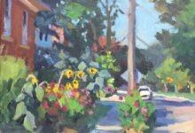 Late Summer Garden, Cardigan St. Guelph